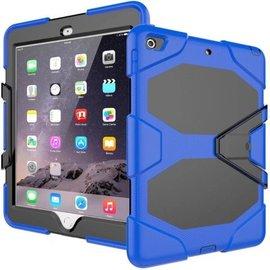 Ntech Ntech Apple iPad mini 4 Extreme Armor hoesje met standaard & 3 lagen shockproof Case - Blauw