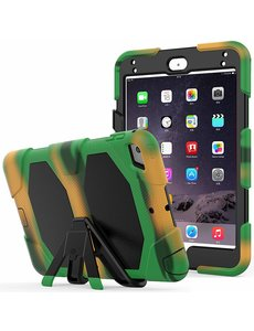 Ntech Ntech Apple iPad mini 4 Extreme Armor Case Camouflage - Groen