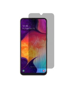 Ntech Ntech Samsung Galaxy A50/A10 Privacy Glazen Screenprotector/ Anti Spy Tempered Glass - Schermbescherming