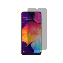 Merkloos Ntech Samsung Galaxy A50/A10 Privacy Glazen Screen protector/ Anti Spy Tempered Glass - Schermbescherming
