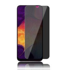 Merkloos Ntech Samsung Galaxy A30/A20 Privacy Glazen Screen protector/ Anti Spy Tempered Glass - Schermbescherming