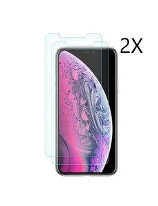 Ntech Ntech Apple iPhone 11 Pro Max Screenprotector Glass (0.3mm) - 2 Pack