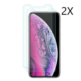 Merkloos Ntech  iPhone Xi Max 2019  Screen protector / Anti-Scratch Tempered Glass (0.3mm) - 2 Pack