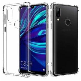 Ntech Ntech Huawei Y7 (2019) Transparant Anti Burst Hoesje / Shock Proof Crystal Clear TPU Case