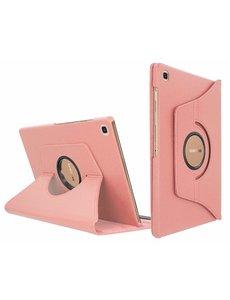 Ntech Samsung Galaxy Tab S5e Draaibare Hoes - Ntech - Rose Goud