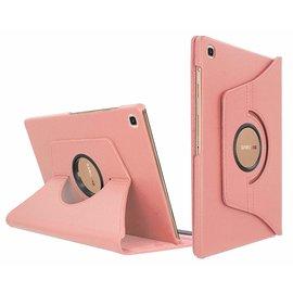 Ntech Ntech Samsung Galaxy Tab S5e SM-T720/T725 Draaibaar Hoesje 360 Rotating Multi stand Case - Rose Goud