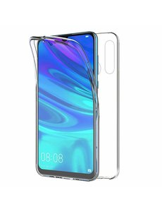 Ntech Ntech Huawei P Smart Plus (2019) Dual TPU Case hoesje 360° Cover 2 in 1 Case ( Voor en Achter) Transparant