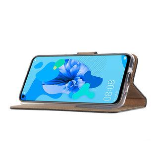 Ntech Ntech Quote & Print Design Boek/Portemonnee Hoesje Met Pasjesruimte & flapje - Huawei P20 lite (2019)