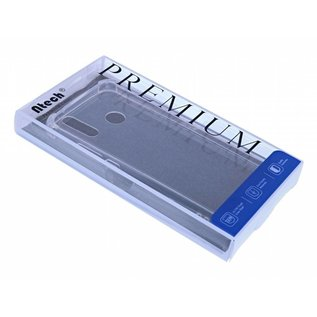 Ntech Ntech Huawei P Smart Z / Y7 Prime (2019) Dual TPU Case hoesje 360° Cover 2 in 1 Case ( Voor en Achter) Transparant