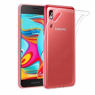 Ntech Ntech Samsung Galaxy A2 Core Transparant Hoesje / Crystal Clear TPU Case