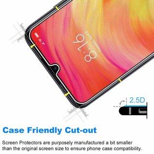 Ntech Ntech  2 Pack Xiaomi Redmi 7 Screen protector / Anti-Scratch Tempered Glass (0.3mm)