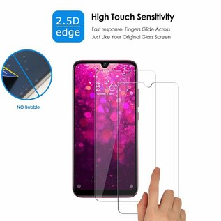 Ntech Ntech  2 Pack Xiaomi Redmi Y3 Screen protector / Anti-Scratch Tempered Glass (0.3mm)
