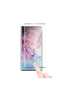 Ntech Ntech Samsung Galaxy Note 10 Screenprotector Tempered Glass - Zwart