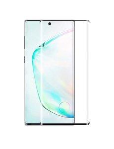 Ntech Ntech Samsung Galaxy Note 10 Plus full cover Screenprotector - Zwart