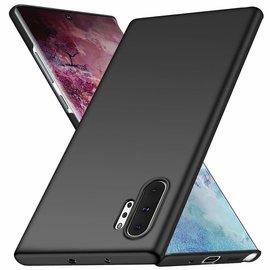 Ntech Ntech Hoesje SilicNtech flexibel TPU hoesje Samsung Galaxy Note10+ Zwartone Hoesje Flexible & Scratch Resistent TPU Case Samsung Galaxy Note10+ Zwart