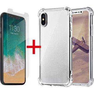 Ntech Ntech Apple iPhone Xr Anti Shock Hoesje hoesje + Screenprotector