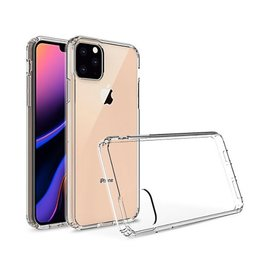 Ntech Ntech Apple iPhone Xi 2019 Back Cover Hoesje - Transparant