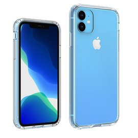 Ntech Ntech Apple iPhone Xi R 2019 Back Cover Hoesje - Transparant