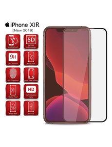 Ntech Ntech Full Cover Screenprotector voor Apple iPhone 11 - Zwart