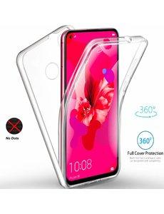 Ntech Ntech 360° Hoesje 2 in 1 Case - Huawei P20 lite 2019 Transparant