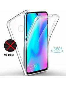 Ntech Ntech 360° Hoesje 2 in 1 Case - Huawei P Smart Plus 2019 Transparant