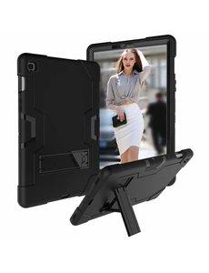Ntech Ntech Armor Kickstand Hoesje Samsung Galaxy Tab S5e T720 - Zwart