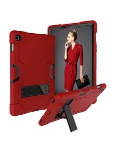 Ntech Ntech Armor Kickstand Hoesje Samsung Galaxy Tab S5e T720 - Rood