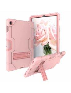 Ntech Ntech Armor Kickstand Hoesje Samsung Galaxy Tab S5e T720 - Rose goud