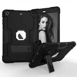 Ntech Ntech Hoesje - Apple iPad mini (2019) Built in Kickstand Armor - Zwart