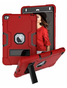 Ntech Ntech Hoesje - Apple iPad mini (2019) Built in Kickstand Armor - Rood