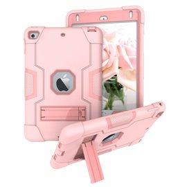 Ntech Ntech Hoesje - Apple iPad mini (2019) Built in Kickstand Armor - Rose Goud