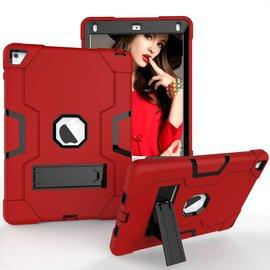 Ntech Ntech Hoesje - Apple iPad Pro 9.7 / Air 2 Built in Kickstand Armor - Rood