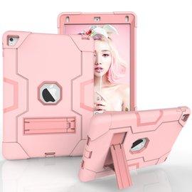Ntech Ntech Hoesje - Apple iPad Pro 9.7 / Air 2 Built in Kickstand Armor - Rose Goud