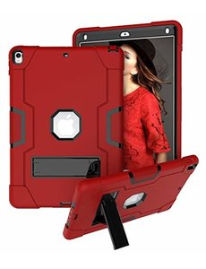 Ntech Ntech Hoesje - Apple iPad Air 10.5 (2019) Built in Kickstand Armor - Rood