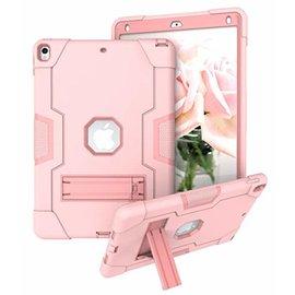 Ntech Ntech Hoesje - Apple iPad Air 10.5 (2019) Built in Kickstand Armor - Rose Goud