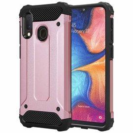 Ntech Ntech Armor Hoesje - Samsung Galaxy A20e - Rose Goud
