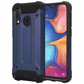 Ntech Ntech Armor Hoesje - Samsung Galaxy A20e - Blauw