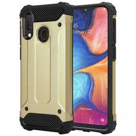 Ntech Ntech Armor Hoesje - Samsung Galaxy A20e - Goud