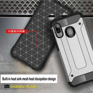 Ntech Ntech Armor Hoesje - Samsung Galaxy A20e - Zilver