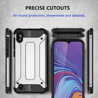 Ntech Ntech Samsung Galaxy A10 Armor hoesje - Rose Goud
