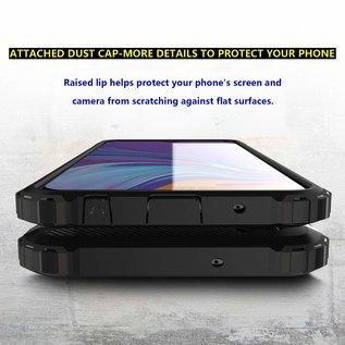 Ntech Ntech Samsung Galaxy A10 Armor hoesje - Blauw