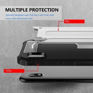 Ntech Ntech Samsung Galaxy A10 Armor hoesje - Goud