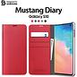 Araree Samsung Galaxy S10 Araree Mustang Diary Portemonnee Hoesje - Rood