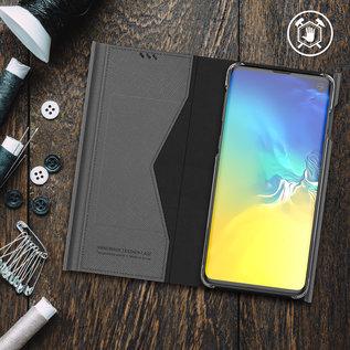 Araree Samsung Galaxy S10 Araree Bonnet Stand Booktype Flip Hoesje - Zwart
