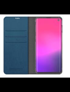 Araree Samsung Galaxy S10 Araree Mustang Diary Portemonnee Hoesje - Blauw