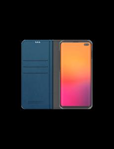 Araree Samsung Galaxy S10+ Araree Mustang Diary Portemonnee Hoesje - Blauw