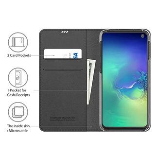 Araree Samsung Galaxy S10e Araree Mustang Diary Portemonnee Hoesje - Bruin