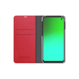 Araree Samsung Galaxy S10e Araree Mustang Diary Portemonnee Hoesje - Rood