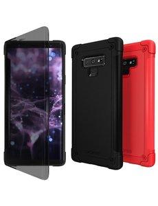 Araree Samsung Galaxy Note 9 Araree N Flip Anti Shock hoesje - Zwart