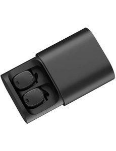 QCY QCY T1 PRO Volledig draadloos In-Ear oordopjes (ZWART)| | PRO Oplaadcase | Touch Sense | B